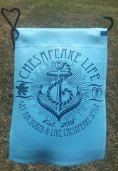 Get Anchored Garden Flag