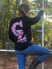 CL Pink Camo Long Sleeve