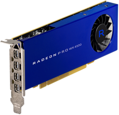 Radeon WX4100 Video Card