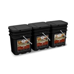360 Serving Package - 62 lbs - Includes: 2 - 120 Serving Entree Buckets and 1 - 120 Serving Breakfast Bucket