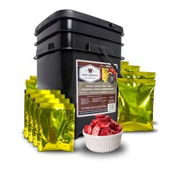 120 Serving Freeze Dried Fruit and Gourmet Snack Combination