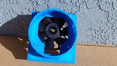 "--Pack of 10-- S9 D319 120mm to 6"" fan shroud with upper chamber for upper exhaust ports"