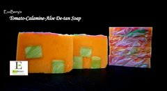 EcoBerry's Handmade Tomato-Aloe-Mint Soap