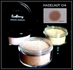 HANDMADE NATURAL LOOSE MINERAL FOUNDATION-HAZELNUT 04