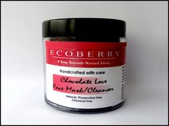 EcoBerry's Handmade Chocolate Love Face mask