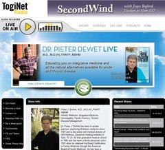 Dr. Pieter De Wet LIVE (Online Radio Show)