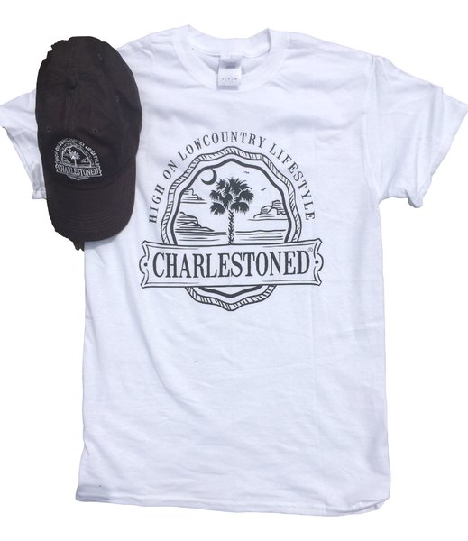 Black/White Hat and Tee Combo