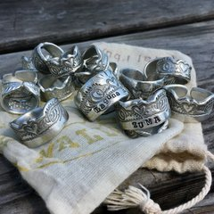 YOUR Beach/Surf Break Custom Cuff Rings