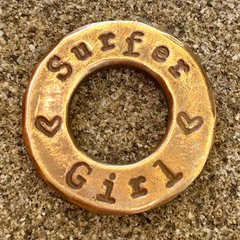 Surfer Girl/A Simple Sandy Life™ SurfToken™ in Bronze