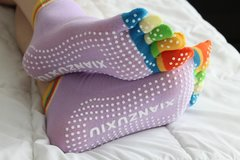 For Toe Lovers - Sexy Well Well Colorful Toe Socks