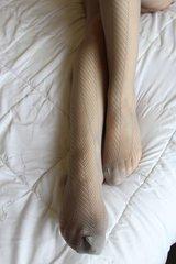 Used Grey Pantyhose