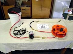 Wallpaper Removal Power Sprayer Assembly