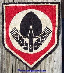 WW II GERMAN RAD LABOR SERVICE SPORTS PATCH