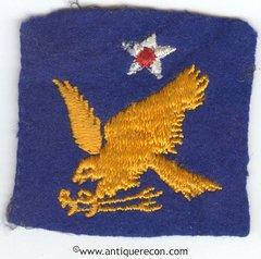 WW II US ARMY 2nd AIR FORCE PATCH ON FELT