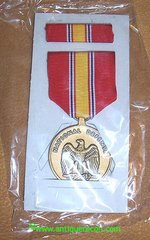 NATIONAL DEFENSE SERVICE MEDAL - BOXED 1993 CONTRACT