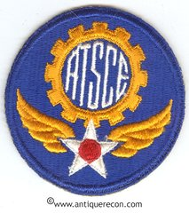 WW II US AIR TECHNICAL SERVICE COMMAND PATCH
