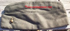 WW II US MARINE CORPS ENLISTED GARRISON CAP