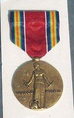 WW II US WORLD WAR II VICTORY MEDAL