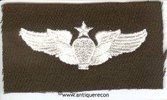 WW II US ARMY SENIOR BALLOON PILOT WINGS - GABARDINE