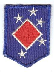 WW II USMC 1st MARINE AMHPIBIOUS COMMAND HEADQUARTERS PATCH - SMALL