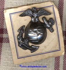 US MARINE CORPS ENLISTED OVERSEAS CAP INSIGNIA