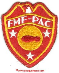 USMC FMF-PAC BOMB DISPOSAL UNIT PATCH