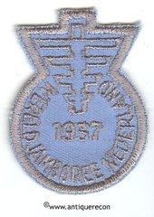 BSA WORLD JAMBOREE NETHERLANDS 1937 PATCH - REPRODUCTION
