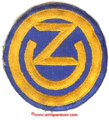 WW II US ARMY 102nd INFANTRY DIVISION PATCH