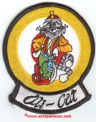 US NAVY ALI-CAT PATCH