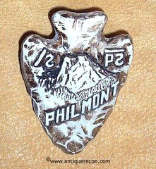 BSA PHILMONT RANCH ARROW HEAD NECKERCHIEF SLIDE