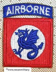 US ARMY 508th REGIMENTAL COMBAT TEAM PATCH - KOREA ERA