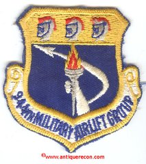USAF 944th MILITARY AIRLIFT GROUP PATCH