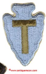 WW II US ARMY 36th INFANTRY DIVISION PATCH