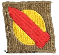 US ARMY 1st COASTAL ARTILLERY DISTRICT (NEW ENGLAND) PATCH
