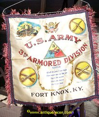 US ARMY 3rd ARMOR DIVISION SISTER PILLOW SHAM