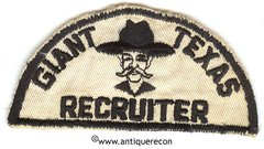 BSA GIANT TEXAS RECRUITER PATCH