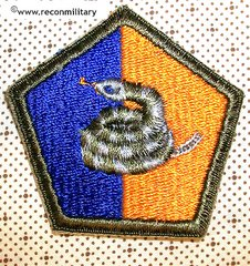 US ARMY 51st INFANTRY DIVISION PATCH - OD BORDER