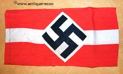 WW II GERMAN HITLER YOUTH WOVEN ARM BAND