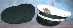 USAIR FORCE COMPANY GRADE OFFICER VISOR WITH EXTRA COVER