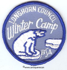 BSA LONGHORN COUNCIL WINTER CAMP PATCH