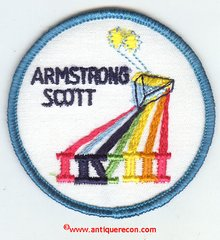 GEMINI 8 MISSION PATCH