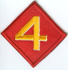 USMC 4th MARINE DIVISION PATCH
