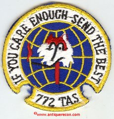 USAF 722nd TACTICAL AIRLIFT SQUADRON PATCH