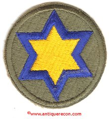WW II US ARMY 66th CAVALRY DIVISION PATCH