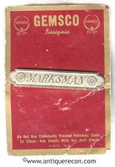 US ARMY MARKSMAN BAR - 1950's OBSOLETE - GEMSCO