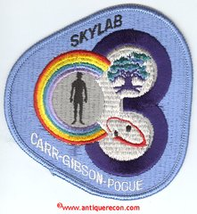 NASA SKYLAB 3 MISSION PATCH
