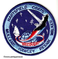 NASA SHUTTLE DISCOVERY MISSION 41-D PATCH
