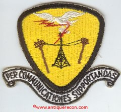 USAF 651st COMMUNICATIONS SQUADRON PATCH