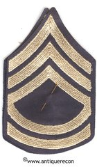 WW II US ARMY TECHNICAL SARGENT 2nd GRADE RANK STRIPES