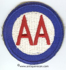 US ARMY ANTI- AIRCRAFT COMMAND PATCH